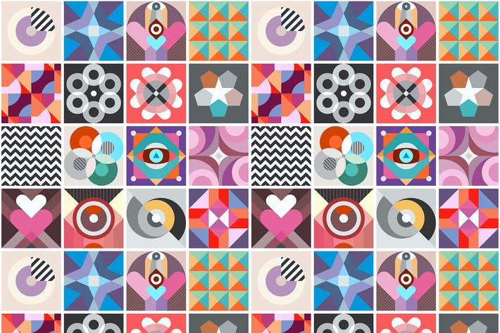 Thumbnail for Abstract Geometric Patterns