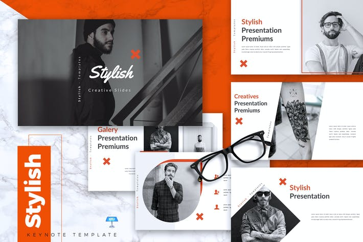 Cover Image For STYLISH - Creative Keynote Template