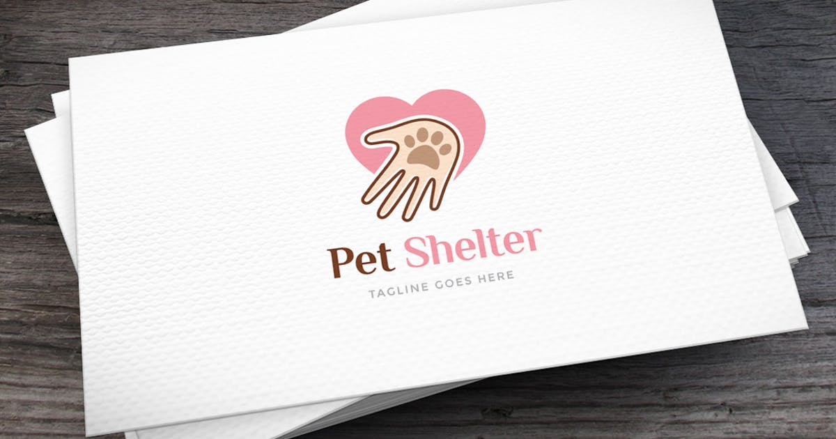 Download Pet Shelter Logo Template by empativo