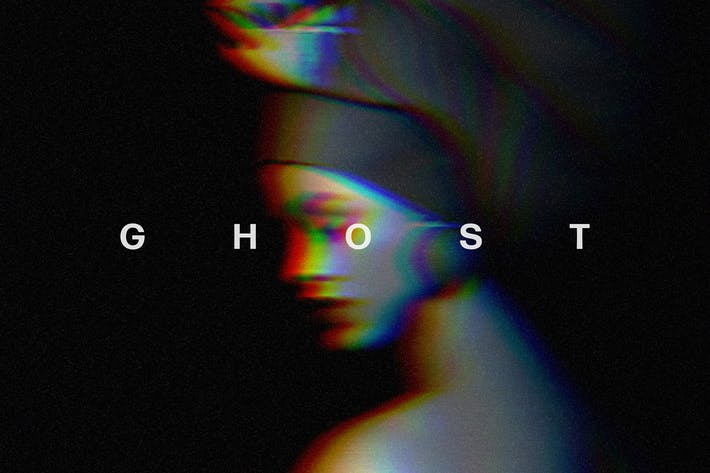 Глитч Ghost Фото Эффект