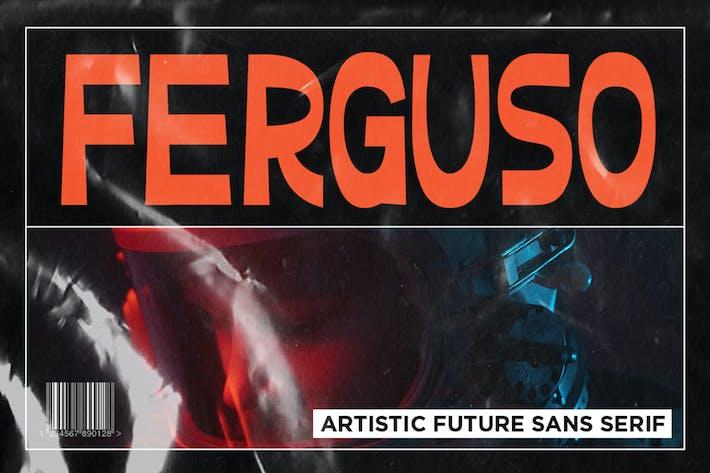 Thumbnail for Ferguso - Esthétique Sans emSerif police