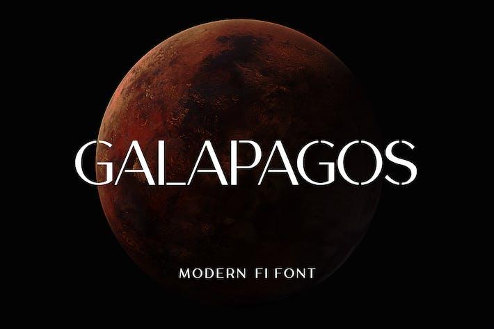 Thumbnail for Galapagos Modern Font