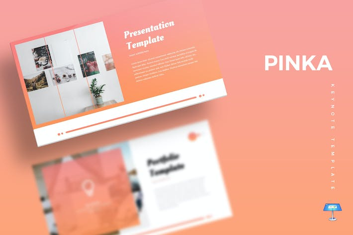 Cover Image For Pinka - Keynote Template