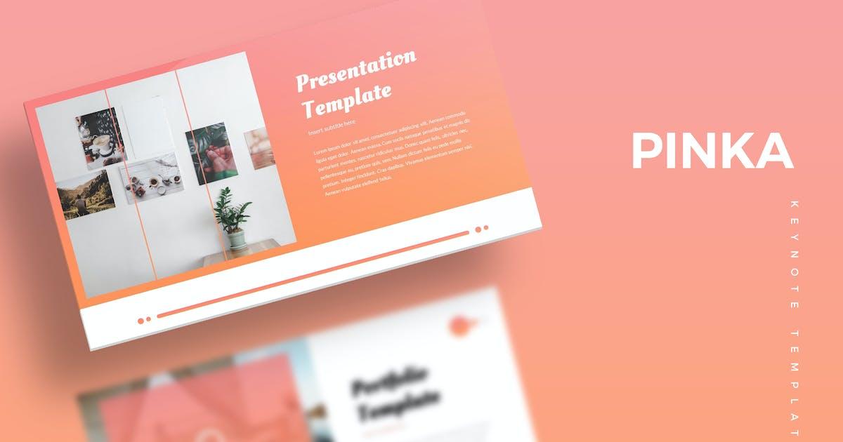 Download Pinka - Keynote Template by aqrstudio