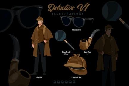 Detective V1 - Illustrations