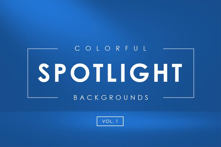 Thumbnail for Colorful Spotlight Backgrounds Vol. 1