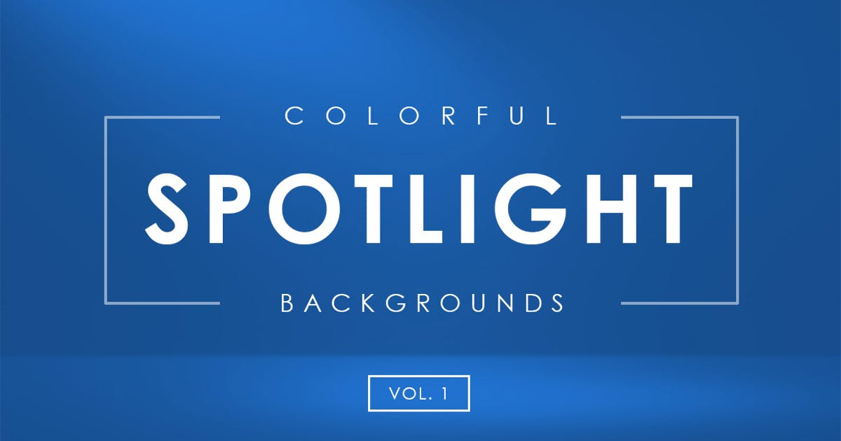 Download Colorful Spotlight Backgrounds Vol. 1 by M-e-f