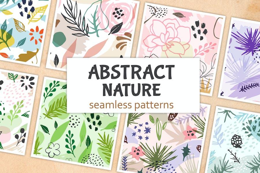 Abstract Seasonal Floral Patterns