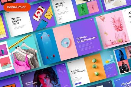 Hanum – Business PowerPoint Template