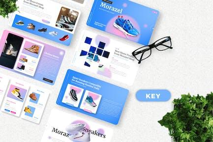 Morazel - Shoes Product Keynote Template