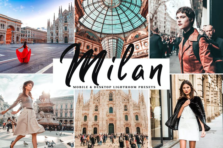 Thumbnail for Milan Mobile & Desktop Lightroom Presets