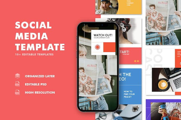 Instagram Templates - Daily