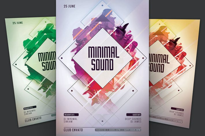 Thumbnail for Minimal Sound Flyer