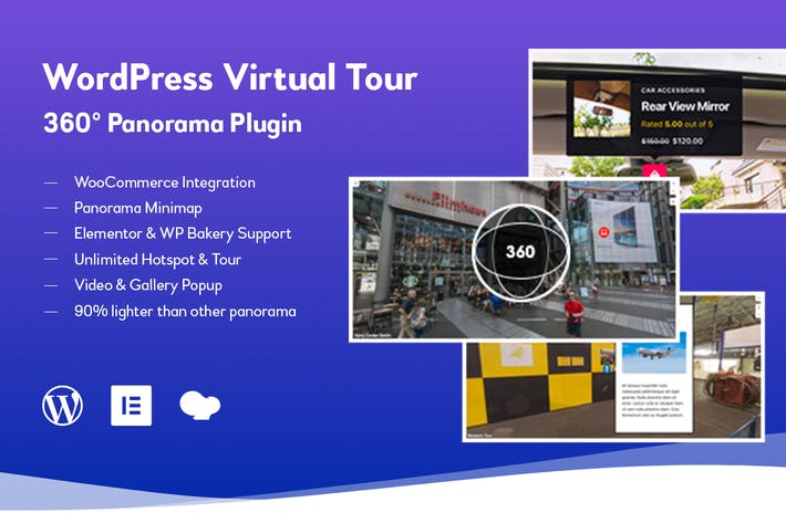 WordPress Virtuelle Tour 360 Panorama Plugin