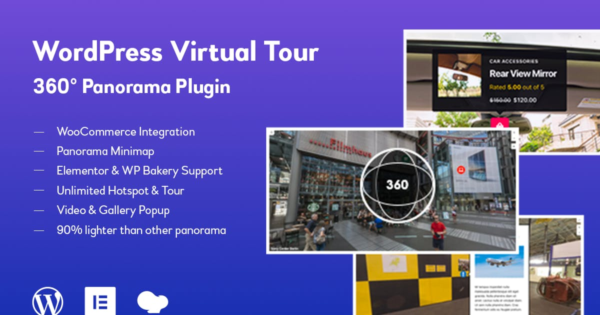 Download WordPress Virtual Tour 360 Panorama Plugin by jegtheme