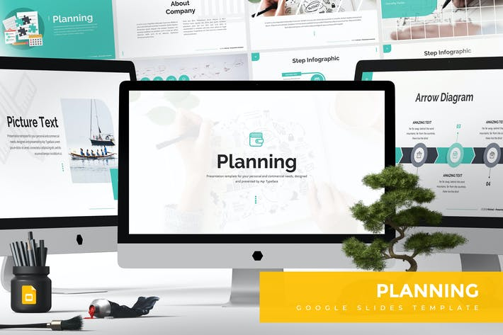 Thumbnail for Planning Google Slides Template