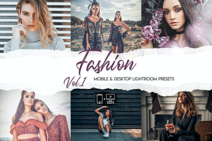 Cover Image For Fashion Lightroom Presets Vol. 1