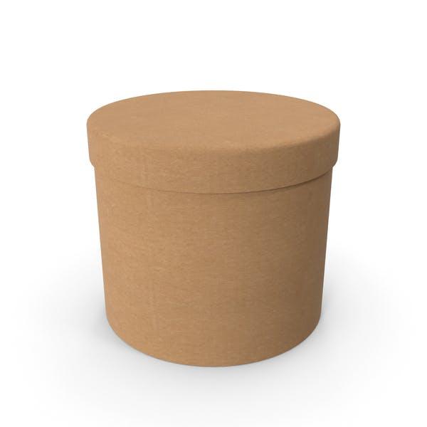 Cover Image for Круглая картонная коробка