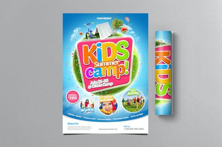 Kids Summer Camp Flyer 2 By Monogrph On Envato Elements