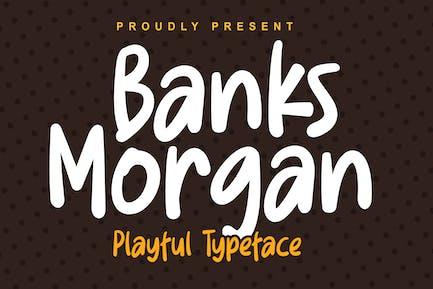 DS Banks Morgan - Playful Typeface