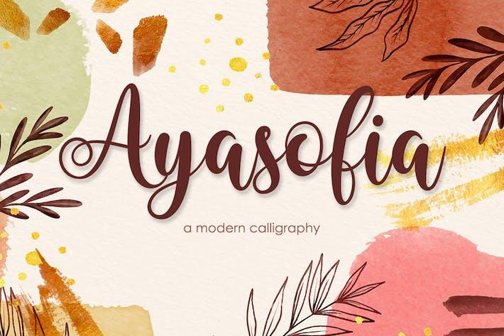 Ayasofia - Современная каллиграфия