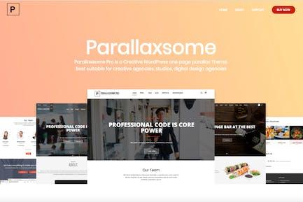 ParallaxSome Pro - Multipurpose WordPress Theme
