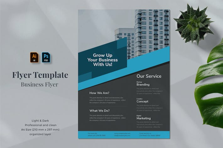 Thumbnail for Business Flyer Template 1.6