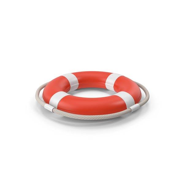 Life Saving Buoy Red