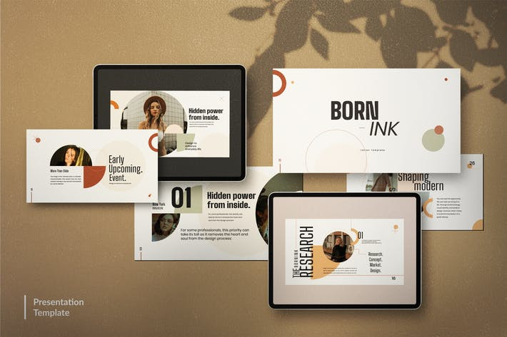 BORN - INK Creative Corporate Design Keynote