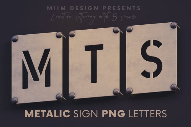 Metalic Sign - 3D Lettering