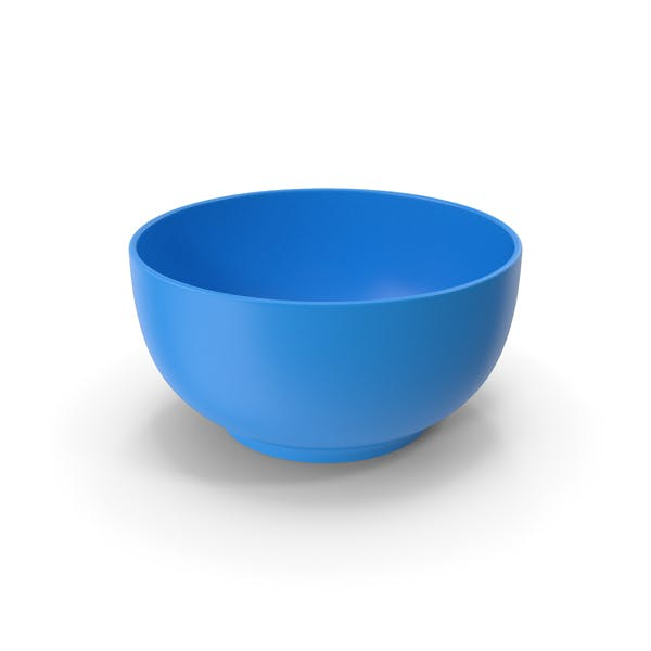 Food Bowl Blue