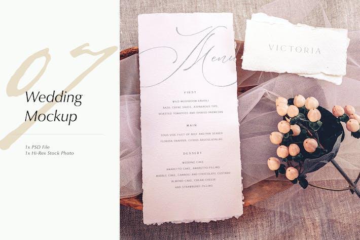 Cover Image For Wedding Photo Mockup 07