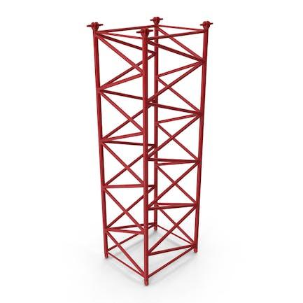 Crane F Intermediate Section 6m Red