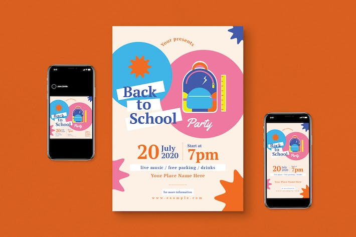 Thumbnail for Back To School Flyer Pack