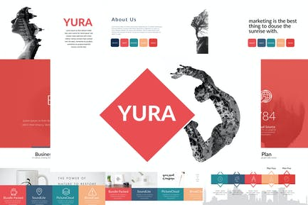 Шаблон Powerpoint YURA