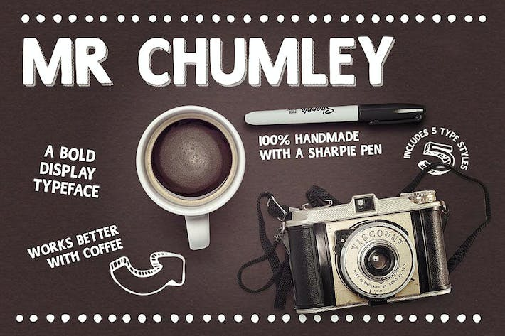 Thumbnail for Mr Chumley font