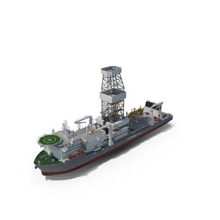 Drilling Vessel Ship (Drillship)
