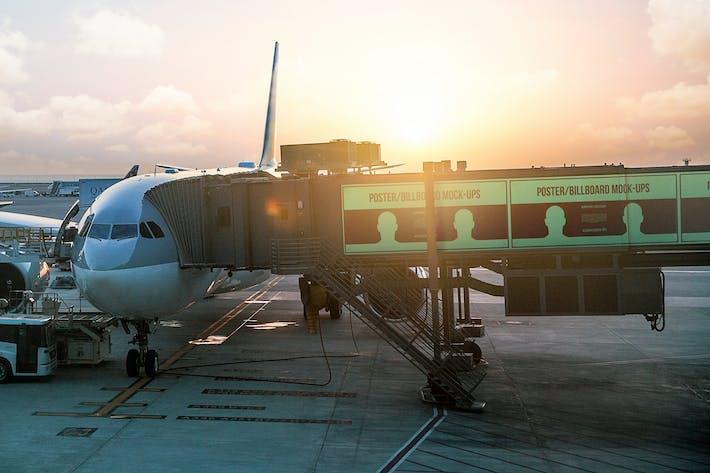 Thumbnail for Póster/Mofetas de cartelera - Edición Aeropuerto #2