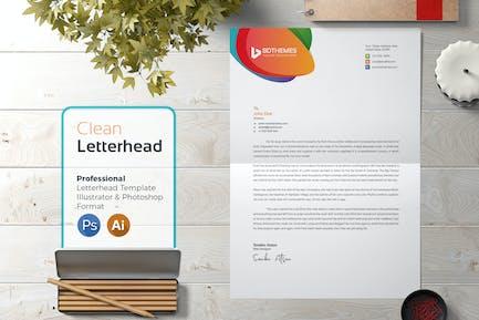 Letterhead Template 01