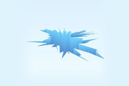 Breaking Ice Background