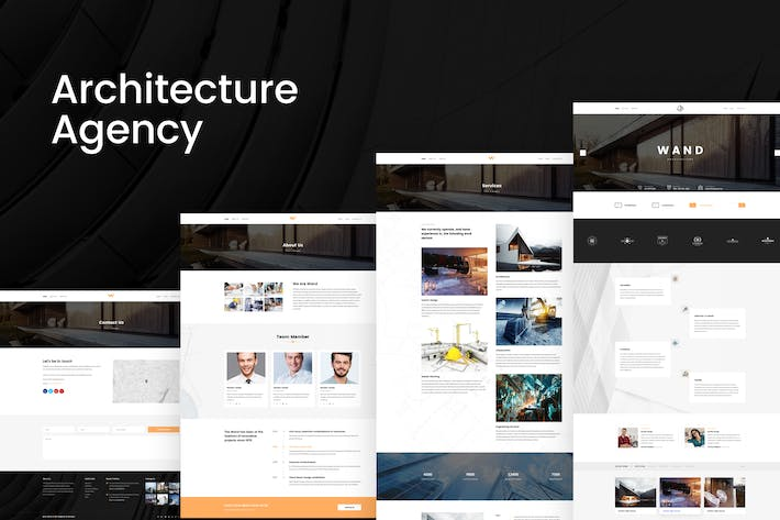 Thumbnail for Architecture Agency - Company & Portfolio PSD