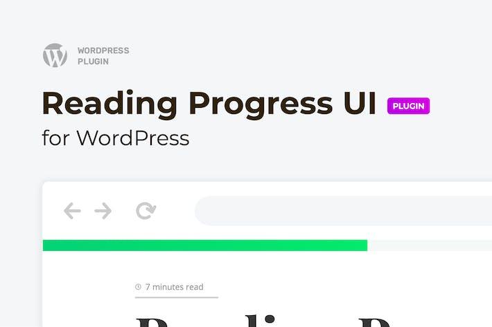 Thumbnail for Reading Progress Bar for WordPress Website – ReBar
