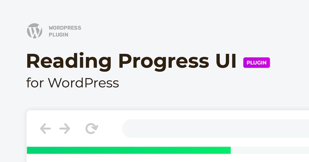 Download Reading Progress Bar for WordPress Website by merkulove
