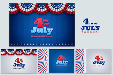 July 4th Backgrounds