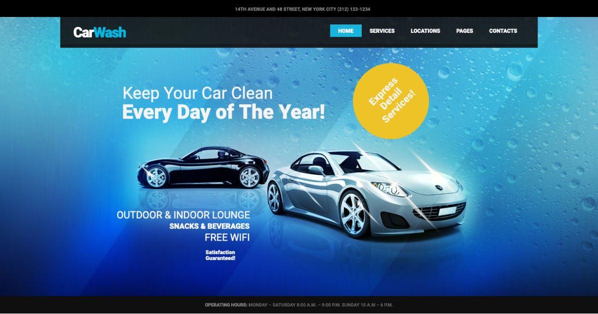 Download Car Wash, Auto Mechanic & Repair Shop WP Theme by AncoraThemes