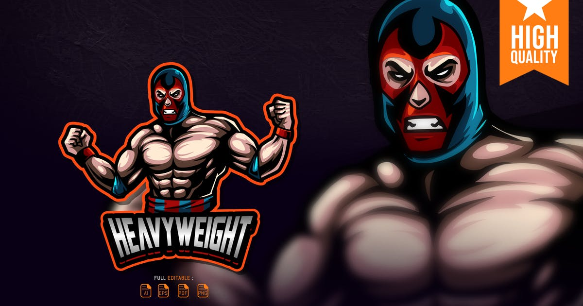 Download Heavyweight Esport Logo by overlaytemplate