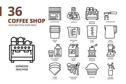 Coffee Shop Outline
