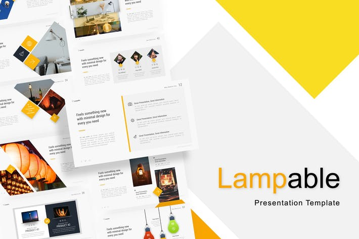 Thumbnail for Lampable - Creative Powerpoint Template