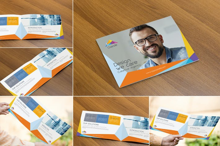 Thumbnail for Photorealistic Brochure Mockups
