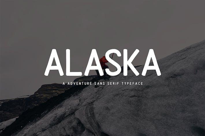 Thumbnail for Alaska | Adventure Sans Serif Type